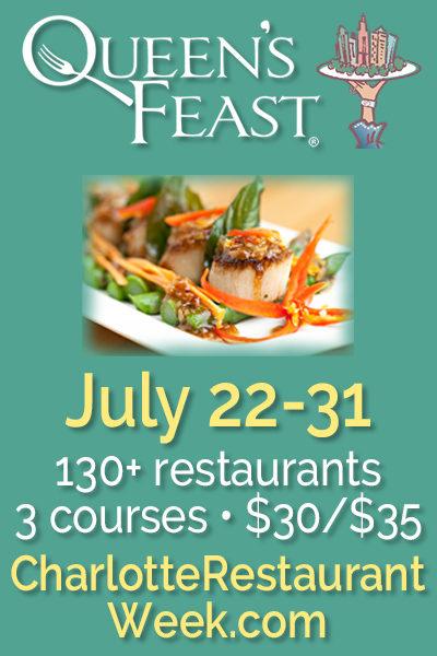 Charlotte Restaurant Week July 22-31