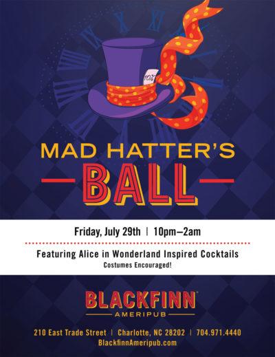 Mad Hatters Ball at Blackfinn