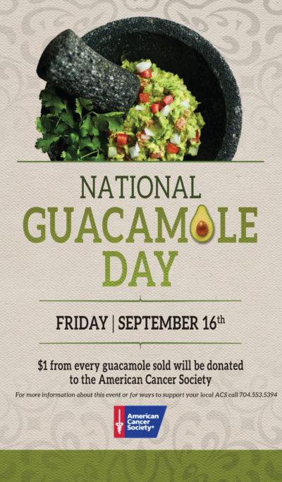 National Guacamole Day at Vida Vida