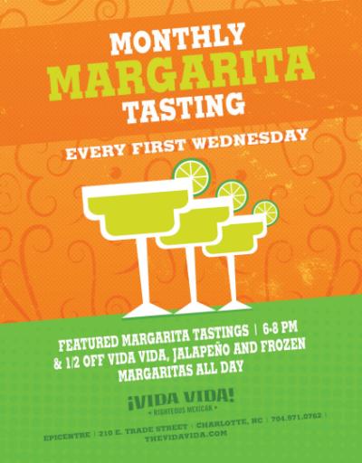 Monthly Margarita Tasting