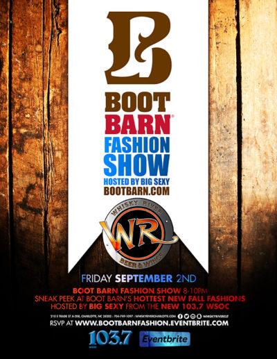 Boot Barn Fashion Show