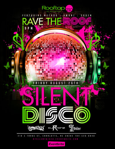 Silent Disco at Rooftop 210