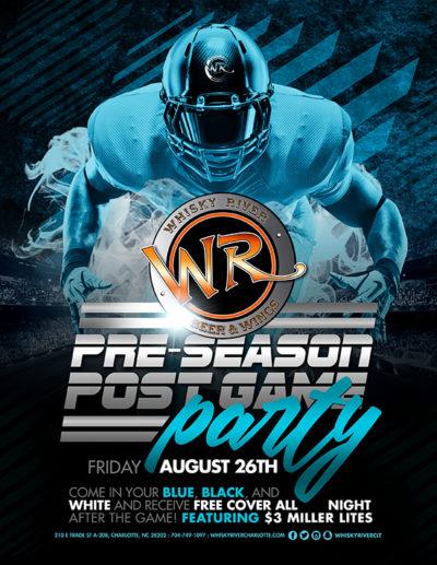 Pre Season Post Game Party