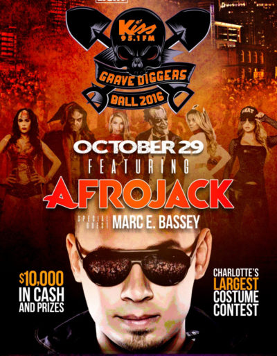17th Annual Grave Diggers Ball Featuring Afrojack