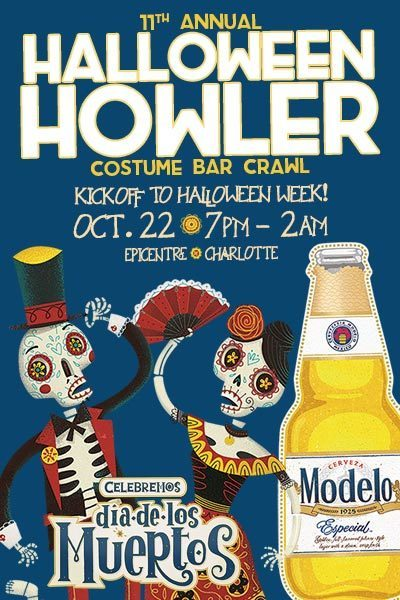 11th Annual Halloween Howler Kick Off Bar Crawl