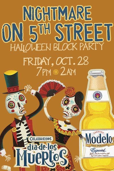 5th Street Halloween Block Party