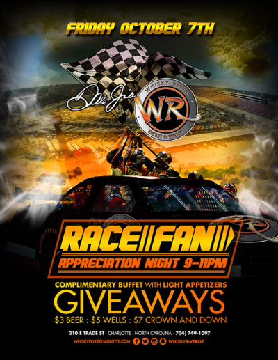 Race Fan Appreciation Night at Whisky River