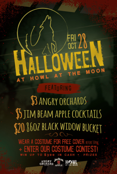 Halloween at Howl at the Moon