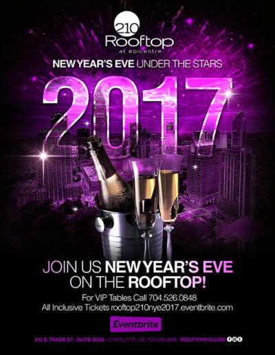 NYE at Rooftop 210