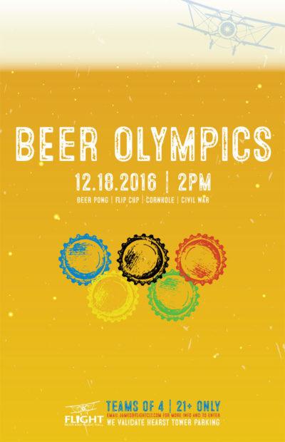 Beer Olympics at FLIGHT