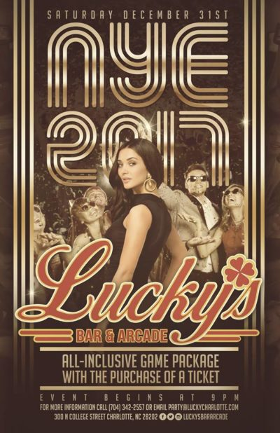 NYE at Lucky's