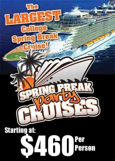 UNCC Spring Break Party Cruise