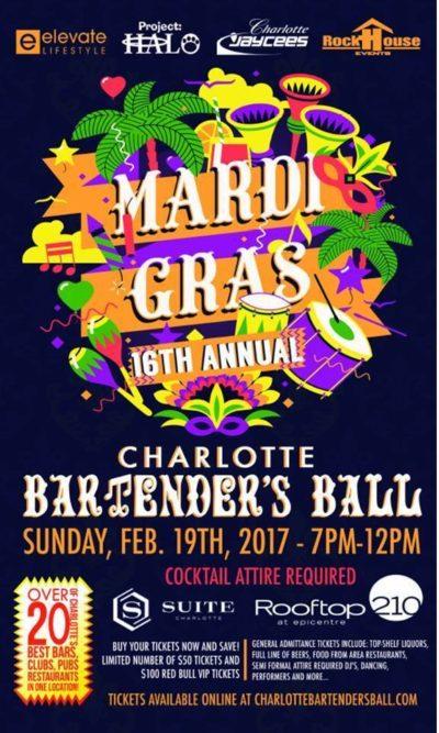 16th Annual Charlotte Bartender's Ball