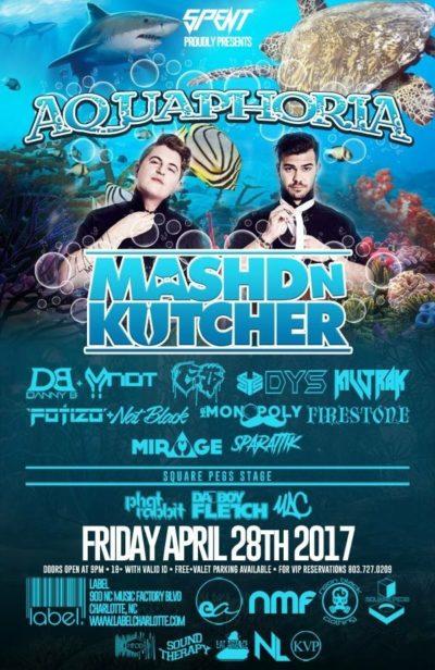 MASHED N Kutcher LIVE at Label
