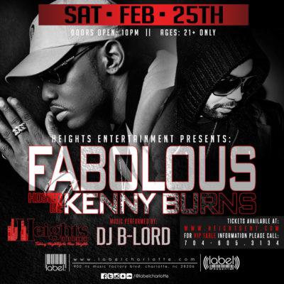 Fabolous at Label