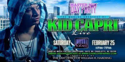 Kid Capri LIVE at Label