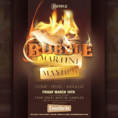 Martini Mayhem at Bubble