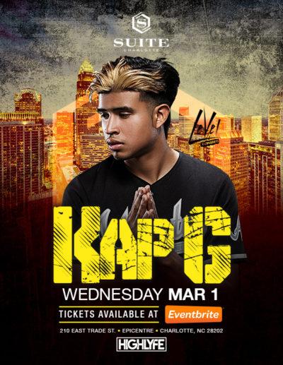 Kap G Live at Suite