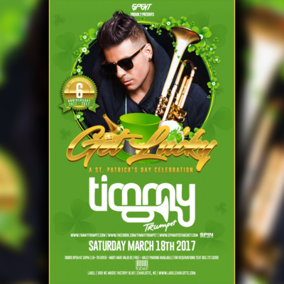 Timmy Trumpet St Pats Party at LABEL