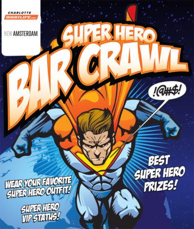 6th Annual Super Hero Bar Crawl