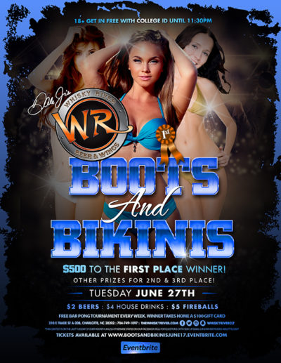 June's Boots and Bikini Contest