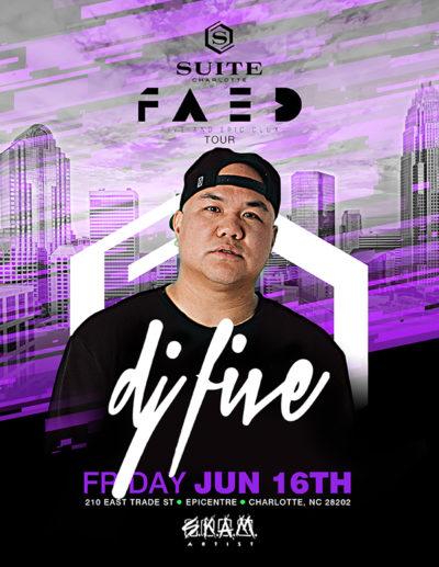 DJ FIVE LIVE at Suite