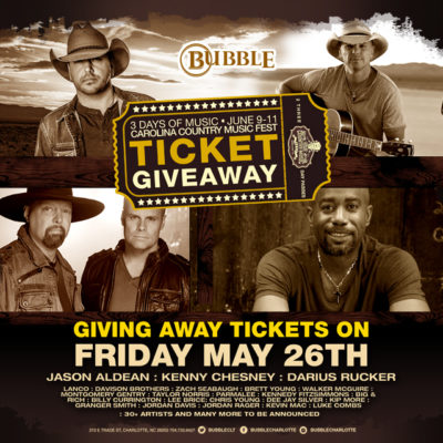 Carolina Country Music Festival Ticket Give Away