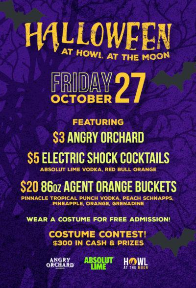 Halloween at Howl at the Moon
