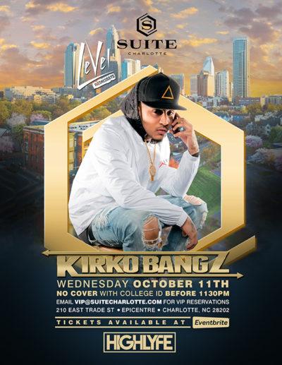 Kirko Bangz at Suite