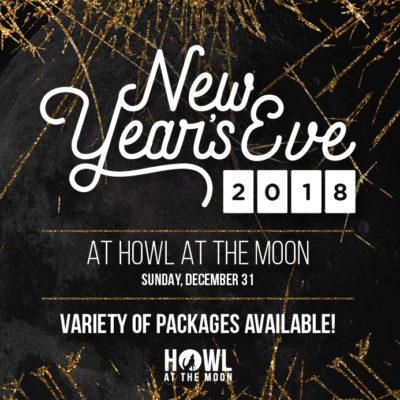 NYE at Howl at the Moon