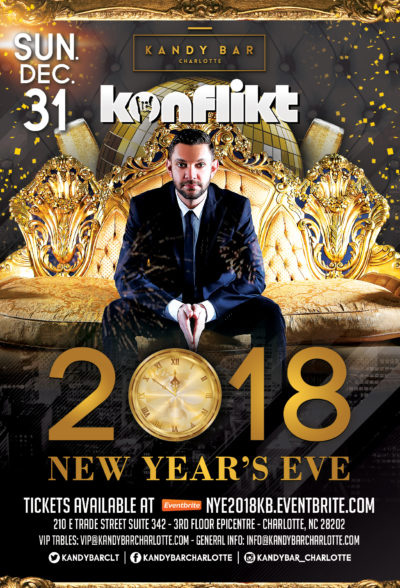 NYE at Kandy Bar