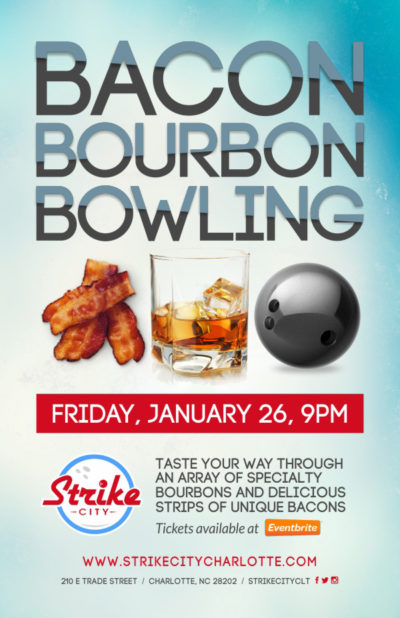 Bacon, Bourbon, and Bowling at Strike City