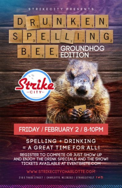 Drunken Spelling Bee at Strike City