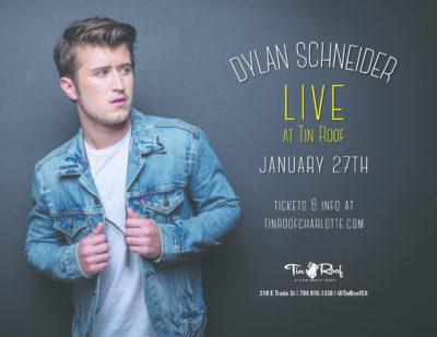 Dylan Schneider LIVE at Tin Roof