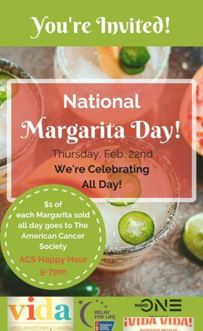 Margarita Day at Vida Vida