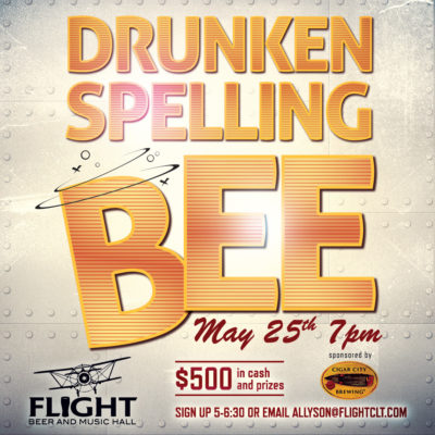 Flight's Drunken Spelling Bee