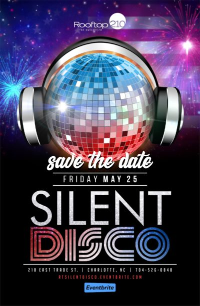 Memorial Day Weekend Silent Disco at Rooftop 210