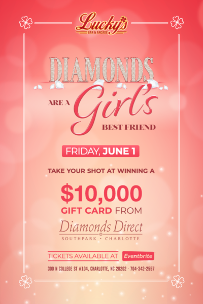 Lucky's Diamons are a Girl's Best Friend