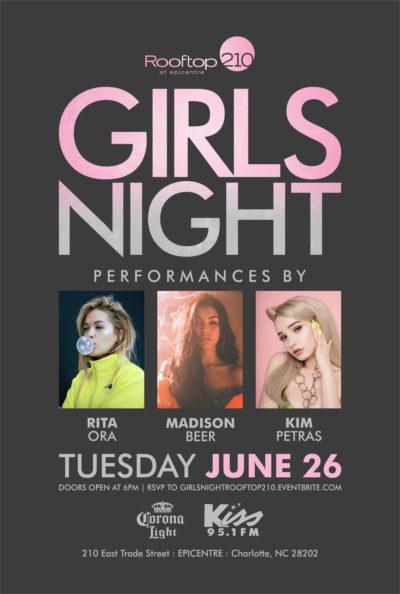 Girls Night: Rita Ora, Madison Beer, Kim Petras