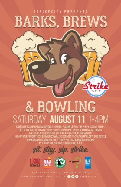 Bark , Brew & Bowling