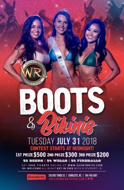 Boots & Bikinis Miss July