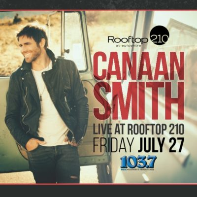 Canaan Smith LIVE