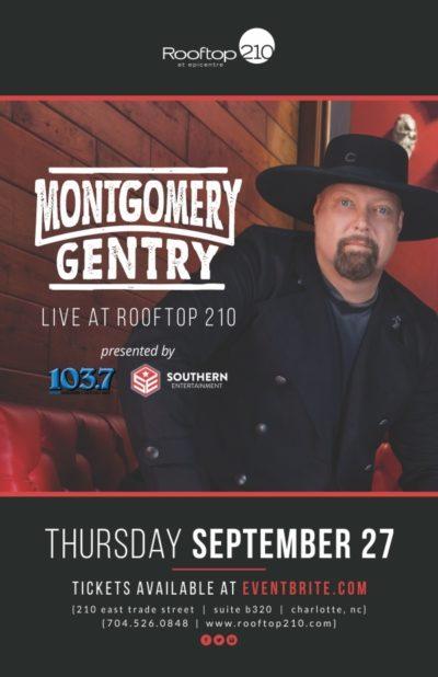 Montgomery Gentry @ Rooftop 210
