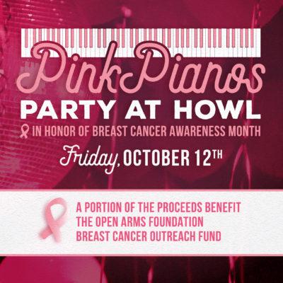 Pink Pianos @ Howl at the Moon