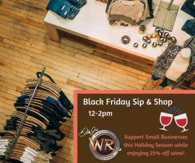 Black Friday Sip & Shop