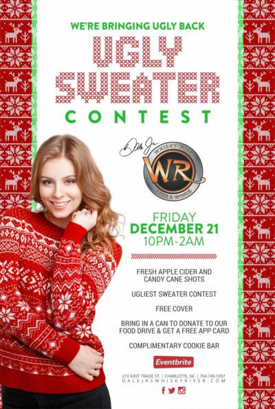 Whiskey River Ugly Sweater Party