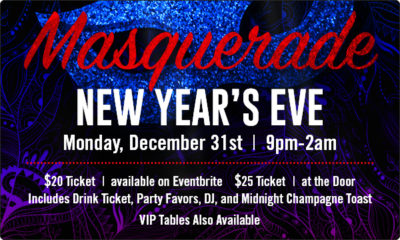 NYE Masquerade Party @ Blackfinn