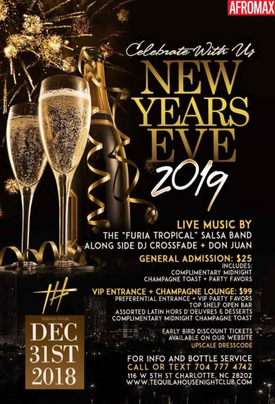 NYE at Tequila House