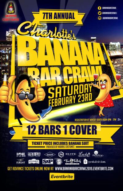 Banana Bar Crawl