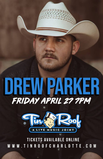 Drew Parker at Tin Roof